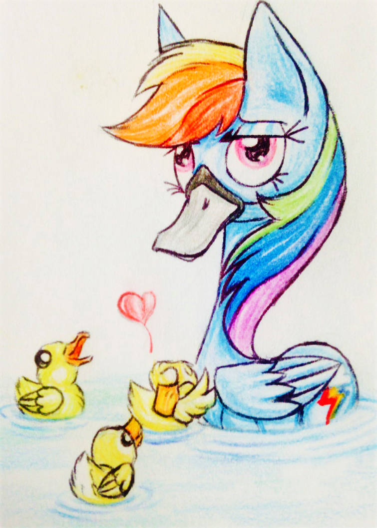 Sketches Ndoodles 3 Rainbow Quack By Meskitt On Deviantart