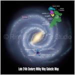 24th Century Galactic Map