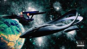 The Orville Meets the Enterprise