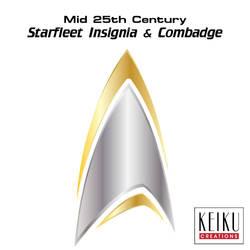 Starfleet Insignia - Mid 25th Century