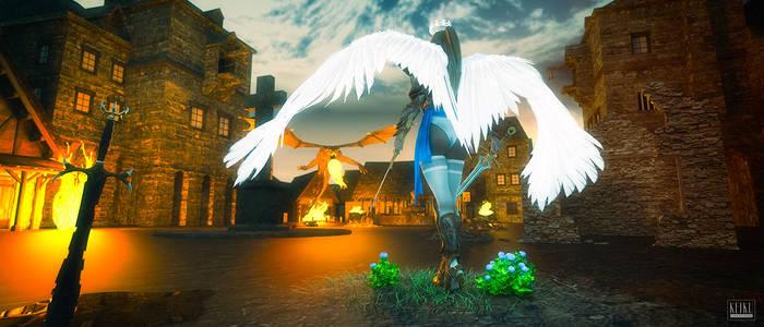 Angelic Battle