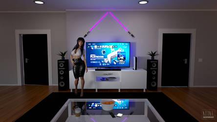 Playstation Girlie