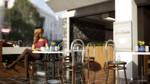 Rebecca's Cafe Time by keiku