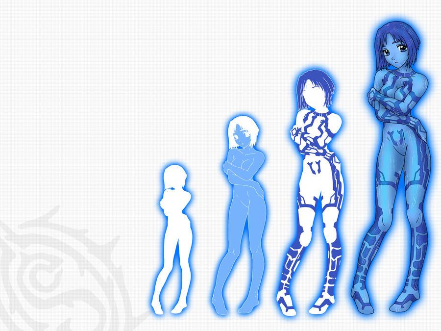 Cortana Wallpaper TY 200k By Shadowcat1001