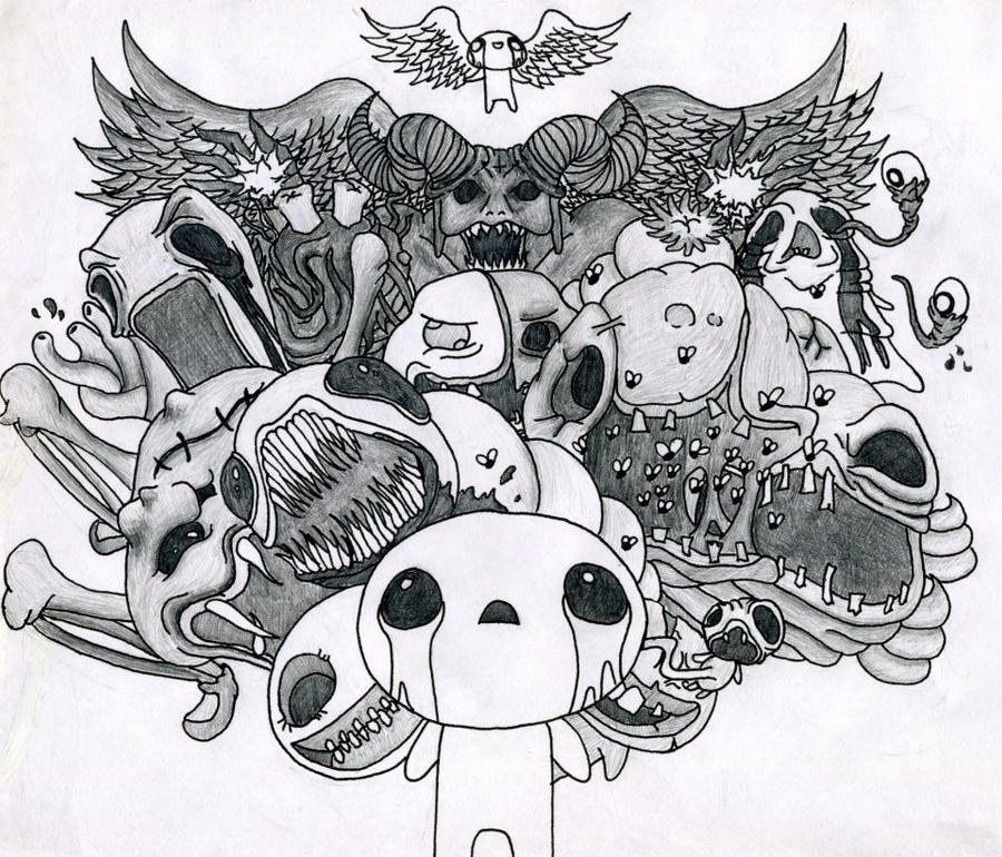 The Binding Of Isaac By Progressiveforest On DeviantArt