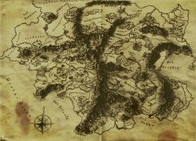 Map of my world - Eltar by fragless