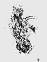 strange monster by fragless