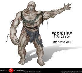 Mutated Friend by fragless