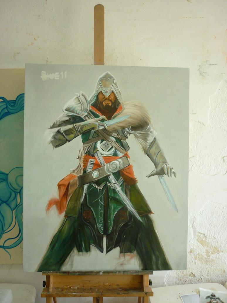 Ezio Auditore by Blue-Cobalto