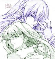 Mana-Kaede by Nagazakii