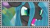 Queen Chrysalis Stamp by SunnStamp