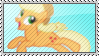 Jumping AJ Stamp by SunnStamp