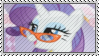 Rarity With Glasses Stamp