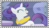 Rarity Hair Flip Stamp by SunnStamp
