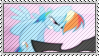 Rainbow Dash Stamp by SunnStamp