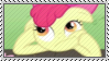 Thinking AppleBloom Stamp by SunnStamp