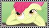 Thinking AppleBloom Stamp by SunnStamp