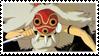 San - Princess Mononoke Stamp by WillowMoonWolf