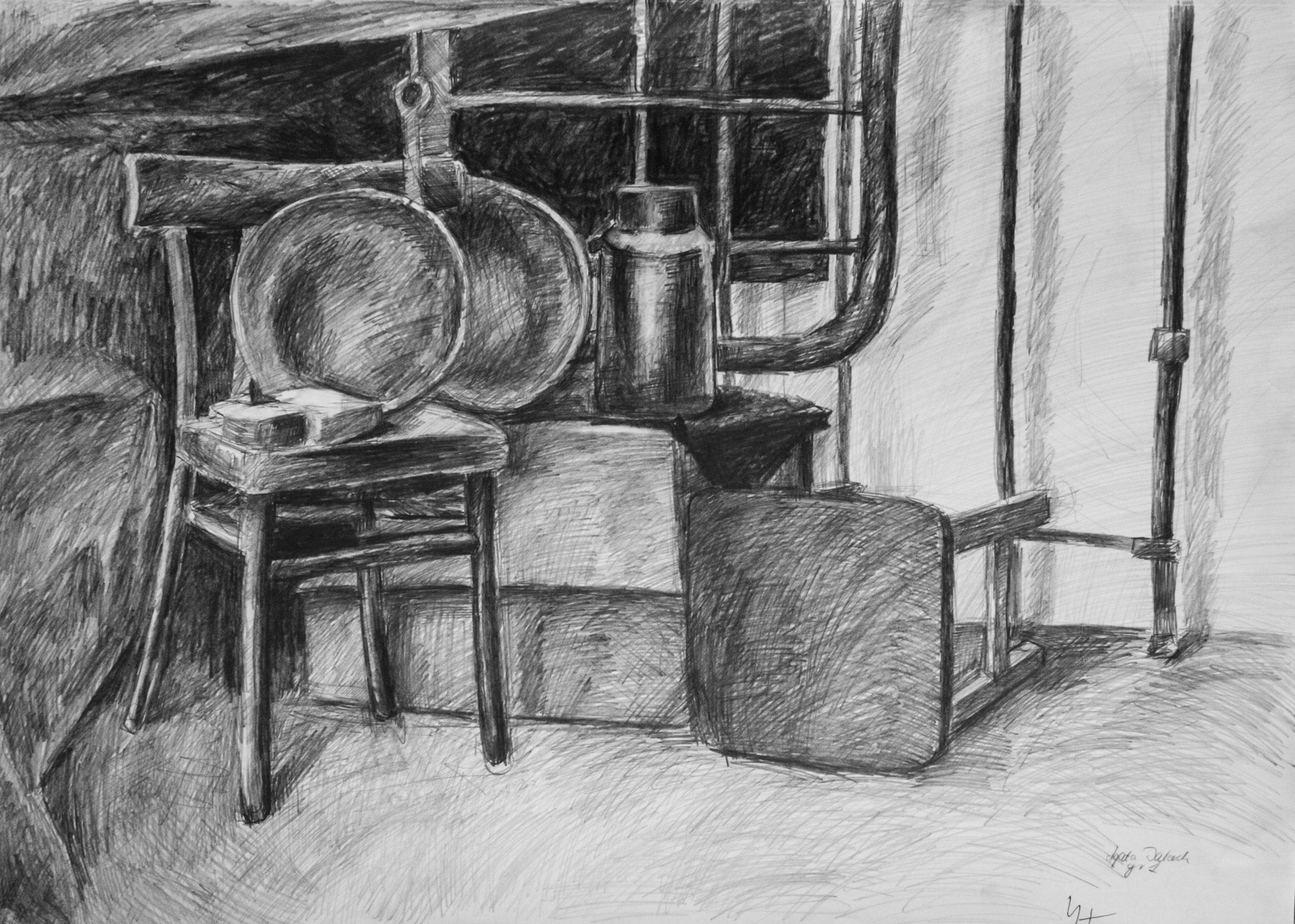 Darkness in the corner by Evanrinya