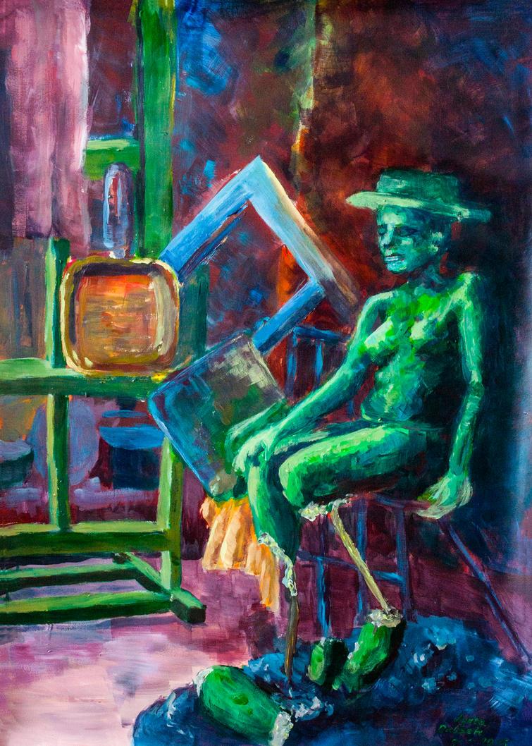 An Artist by Evanrinya