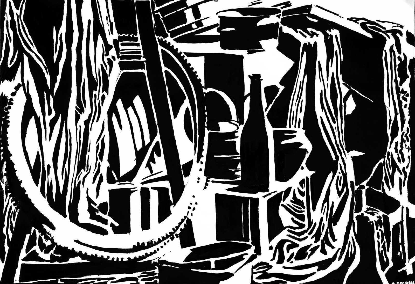 Butelka i szmaty by Evanrinya