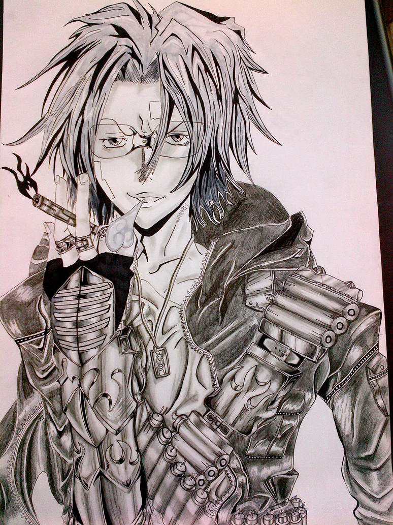 Gokudera Hayato with new Vongola Gear by arschra