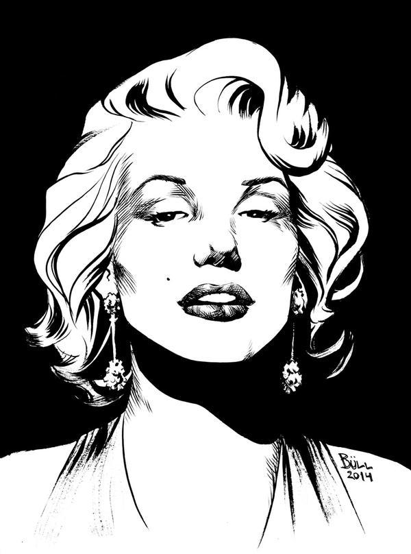 Marilyn by BrunoBull