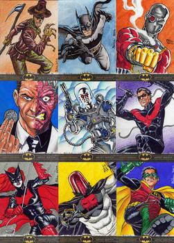 Batman The Legend sketch cards 1