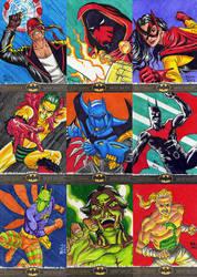 Batman The Legend sketch cards 2