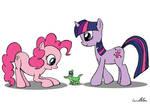 Pinkie and Twilight