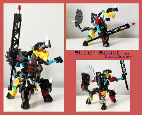 LEGO MOC - Slicer Beast