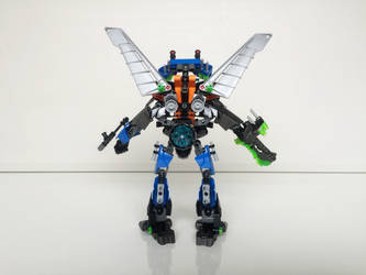 LEGO MOC - GCNE-29 Cobalt Azure 03 (rear view) by ComicGuy89