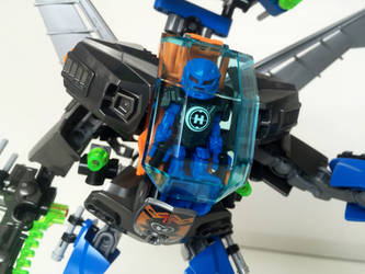 LEGO MOC - GCNE-29 Cobalt Azure 06 (close-up) by ComicGuy89