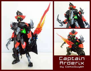 LEGO MOC - Captain Arderix by ComicGuy89
