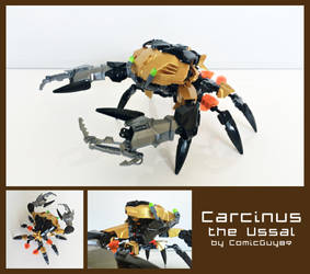 LEGO MOC - Carcinus the Ussal by ComicGuy89