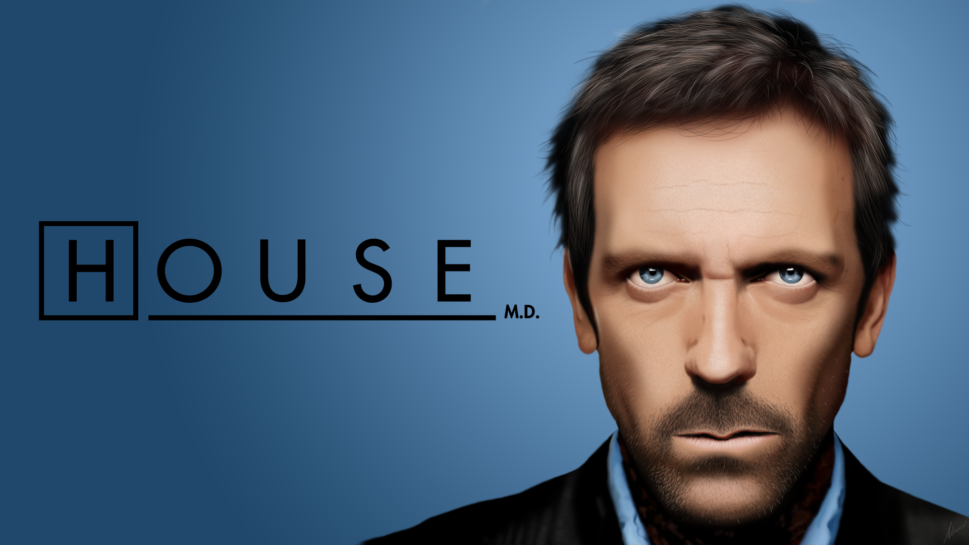 Dr. House - Wallpaper version by berserk2k on deviantART