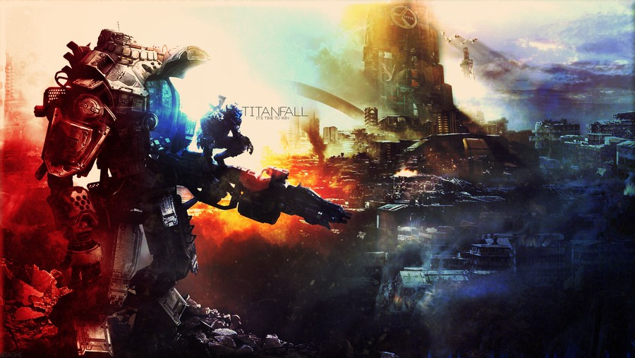 Titanfall - It's time to win. by R4inbowbash
