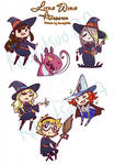 Little Witch Stickers