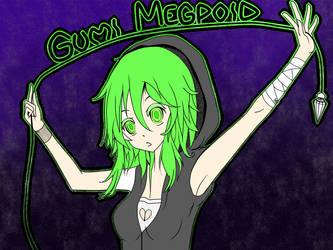 Gumi Megpoid by Arthey