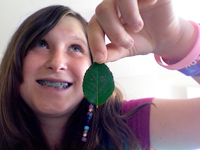 Leaf Is Happy by BleachedAnime