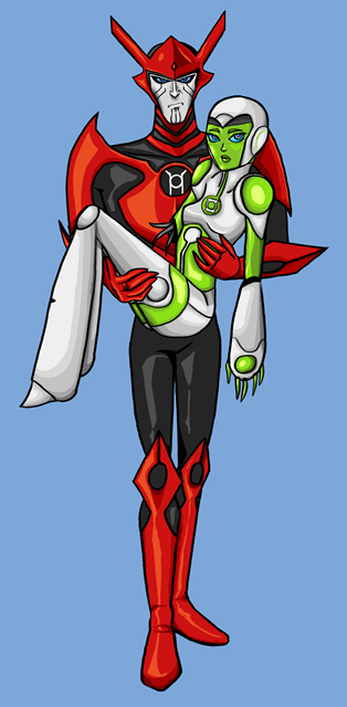 Razer and Aya by caitabraxas