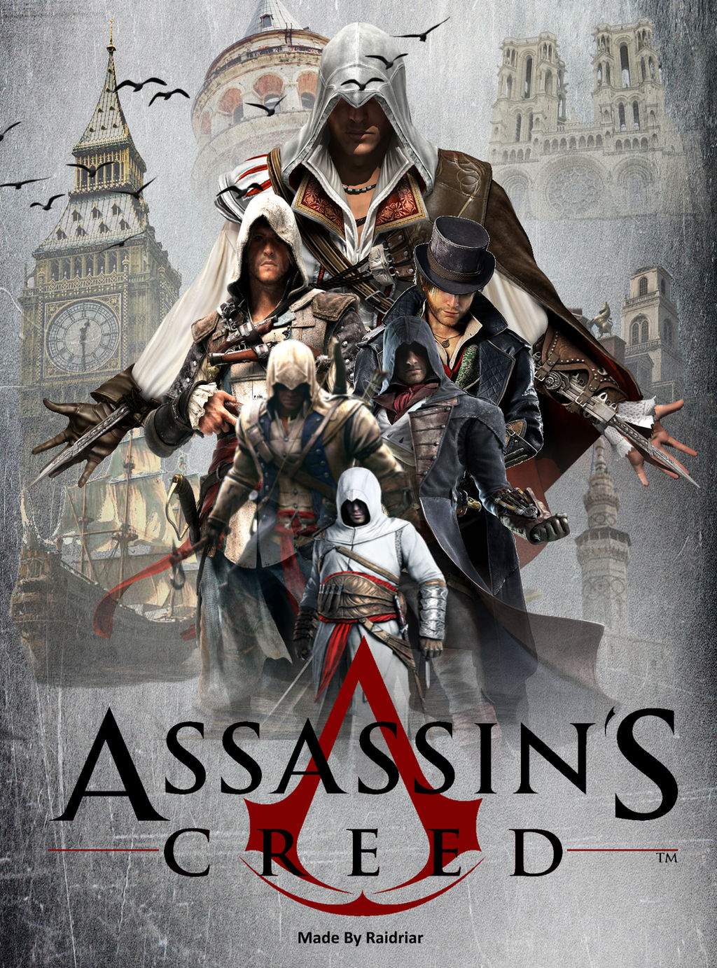 Assassin S Creed Poster By Raidriar93 On Deviantart
