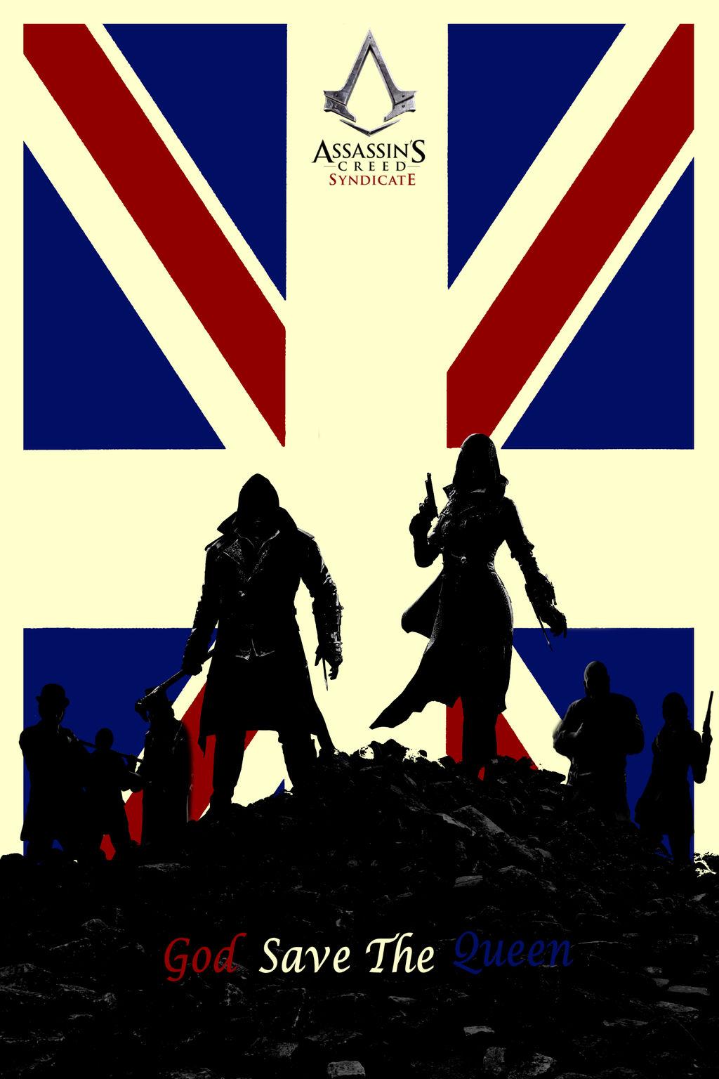 Assassin S Creed Syndicate Minimalist Poster By Raidriar93 On Deviantart
