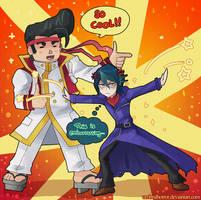 Gon and Shun by kolilop