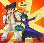 Gon and Shun