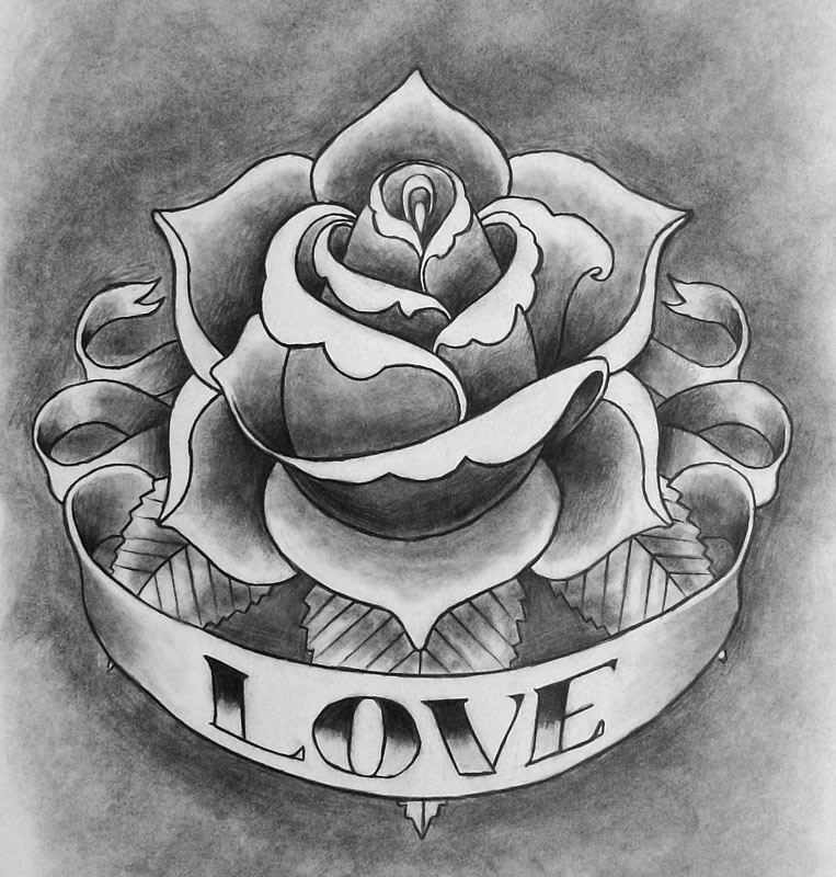 Tattoo Designs Rose: Rose Tattoo By CubistPanther On DeviantArt