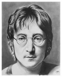John Lennon by CubistPanther
