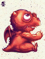 Baby Dragon by rifalisme
