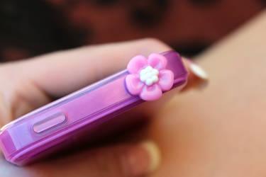 Hibiscus Phone Plug