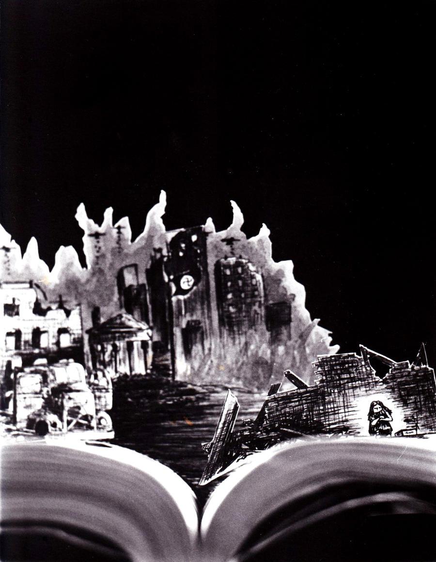 The Book Thief by AlanaRoze